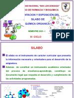 SILABO Quimica organica I.pptx
