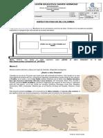 Aspectos físicos de Colombia - ciclo 3 - 15 de agosto
