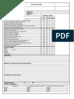 049 - Check list  de taludes