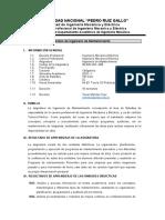 SYLLABUS sunedu INGENIERIA DE MANTENIMIENTO