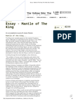 Essay - Mantle of The King _ The Yellow Site _ Fandom