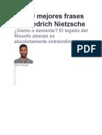 Las 60 mejores frases de Friedrich Nietzsche