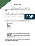 DEFINICION DEL MERCADO DE DIVISAS