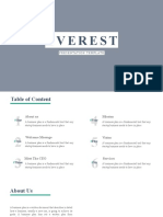 Everest Powerpoint Template
