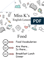 Miss K's English Lessons Y3 5