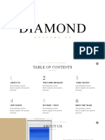 Diamond Minimal Powerpoint Template