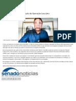 2020-08-29-55-Podemos requer prorrogação da Operação Lava Jato — Senado Notícias