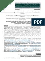 Migliorini, Galon, De - 2019 - Capacitação multiprofissional sobre drogas no contexto escolar formação, saúde e educação