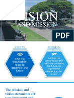 VISION-MISSION-GOALS-OBJECTIVES-CORE VALUES