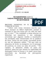 1 SERMON TRANSFORMADO MADUREZ