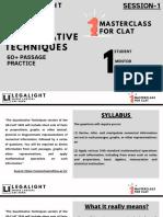 QUANTITATIVE TECHNIQUES (SESSION 1) (2)