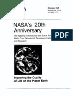 NASA 20th Anniversary Press Kit