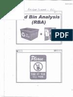 Red Bin Analysis-Mace