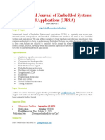 Call for Paper International Journal of Embedded Systems and Applications IJESA