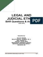 BAR Q&A Legal Ethics