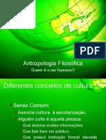 Antropologia Filosófica I