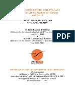Civil Engineering(SRIT-R19)