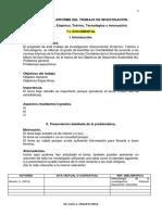 Sesión 06.Cuerpo Del Informe Del TI. (4 Modelos)