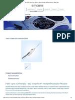 EMCORE Fiber Optic Gyroscope 1550 nm Lithium Niobate Modulator Module _