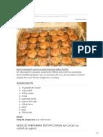 Chiftele de curcan cu cartofi la cuptor