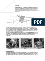 Descripción y tipos de maquinado