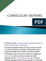 CURRICULUM-DEFINIRE.ppt