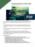 Best New Digital Marketing Books to Read in 2020