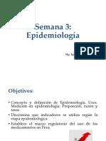 Semana 3 Epidemiología