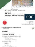 INF 3230 Wireless Communications