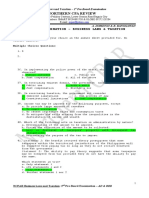 1st Tax Pre-Board Exam - October 2011 Batch