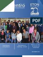 Revista Encuentro - Colegio Eton