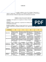 RUBRICA PARA EVALUAR INFORME DE PRÁCTICA  01