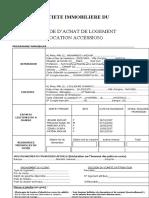 DEMANDE ACHAT LV & CASH ANOUAR01