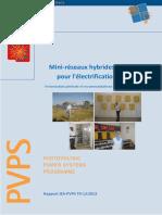 Mini-réseaux hybrides PV-diesel