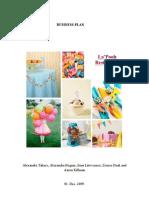 Business Plan - La Pooh