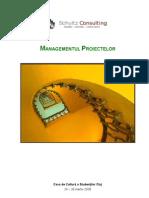 Suport de Curs - Managementul Proiectelor