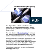 Reference Guide to Fiber Optic Splicing