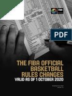 FIBA Summary of Rules Changes_Valid as of 1-10-2020_June2020_en