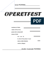 Operetfest partitura