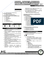Anesthesiology Preoperative Assessment
