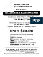 College Day Flyer