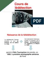 Cours de Teledetection