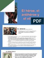 EL HEROE Y EL ANTIHEROE