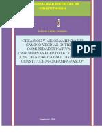 PIP CV - CAHUAPANAS ,PUERTO LETICIA APURUCAYALI LETICIA