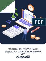 Factura, Boleta y Guía de Despacho ¡conócelas de una vez!