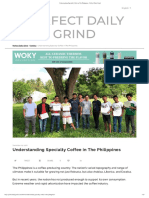 Understanding Specialty Coffee in the Philippines