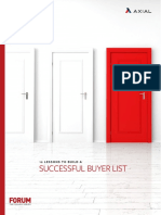 Axial - 12 Secrets to Build Successful Buyer List