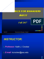 Lecture 1 Firm Costs