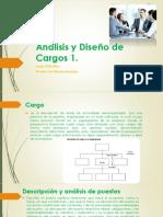 Análisis y Diseño de Cargos 1 4ta. semana