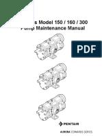 PUMPS EDWARDS MODEL 150 160 300  ED11008